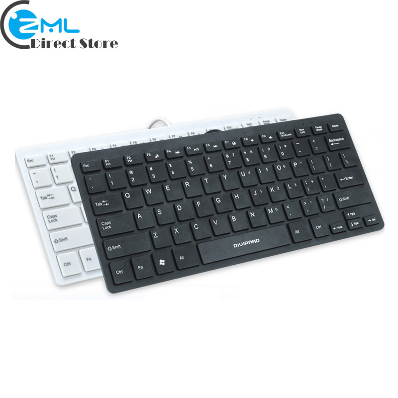d510 usb wired laptop keyboard ultra thin ergonomic multimedia keyboard 78 keys compact mini. Black Bedroom Furniture Sets. Home Design Ideas