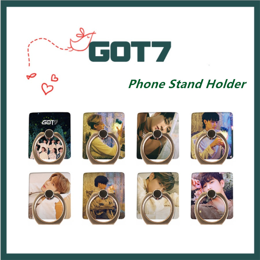 You&me Miracle Finger Ring Grip Universal Kpop Got7 Members Adjustable Phone Stand Holder Present Jewelry Findings & Components