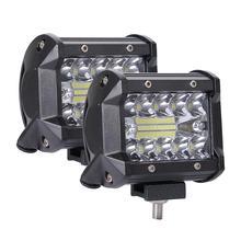 цена на 200W 4in Car LED Work Light Bar Driving Lamp Fog Light 12V 24V Headlight for Offroad Boat Tractor Truck 4x4 SUV ATV ATV Led Bar