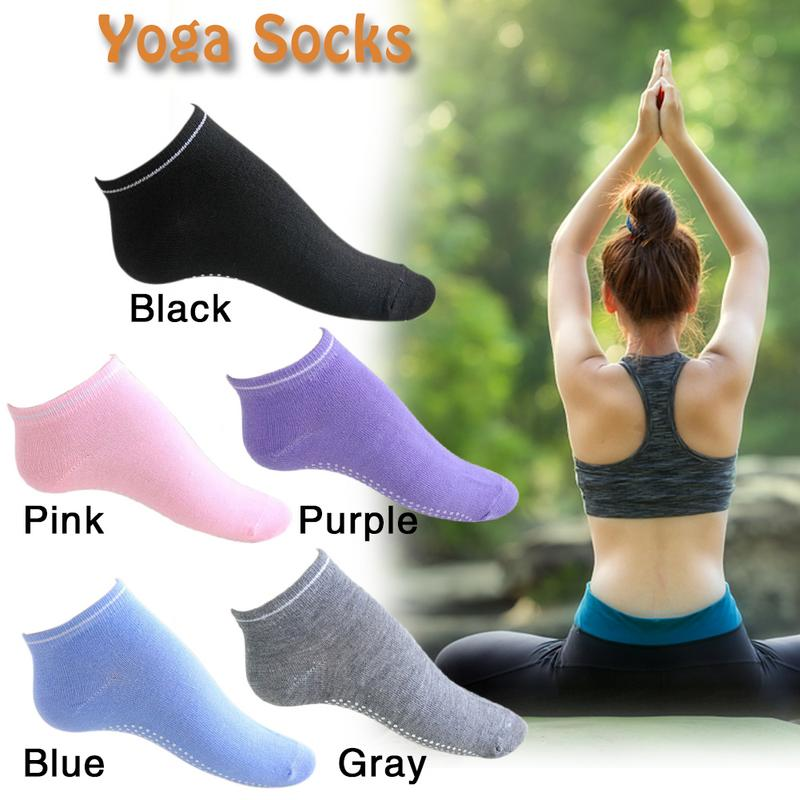 Yoga Sports Professional Anti-slip Socks Unisex Candy Socks Yoga Socks Ladies Ventilation Pilates Ballet Socks Dance Slippers