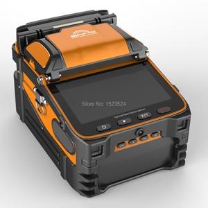 Image 3 - Многоязычная Автоматическая 6 моторная интеллектуальная FTTH машина для сращивания оптического волокна, Сращивание сращивания
