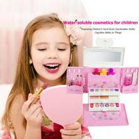 Princess Makeup Car Children's Makeup Toy Princess Cosmetics Set Toy Make Up Kits Pretend Play Children Beauty Gift