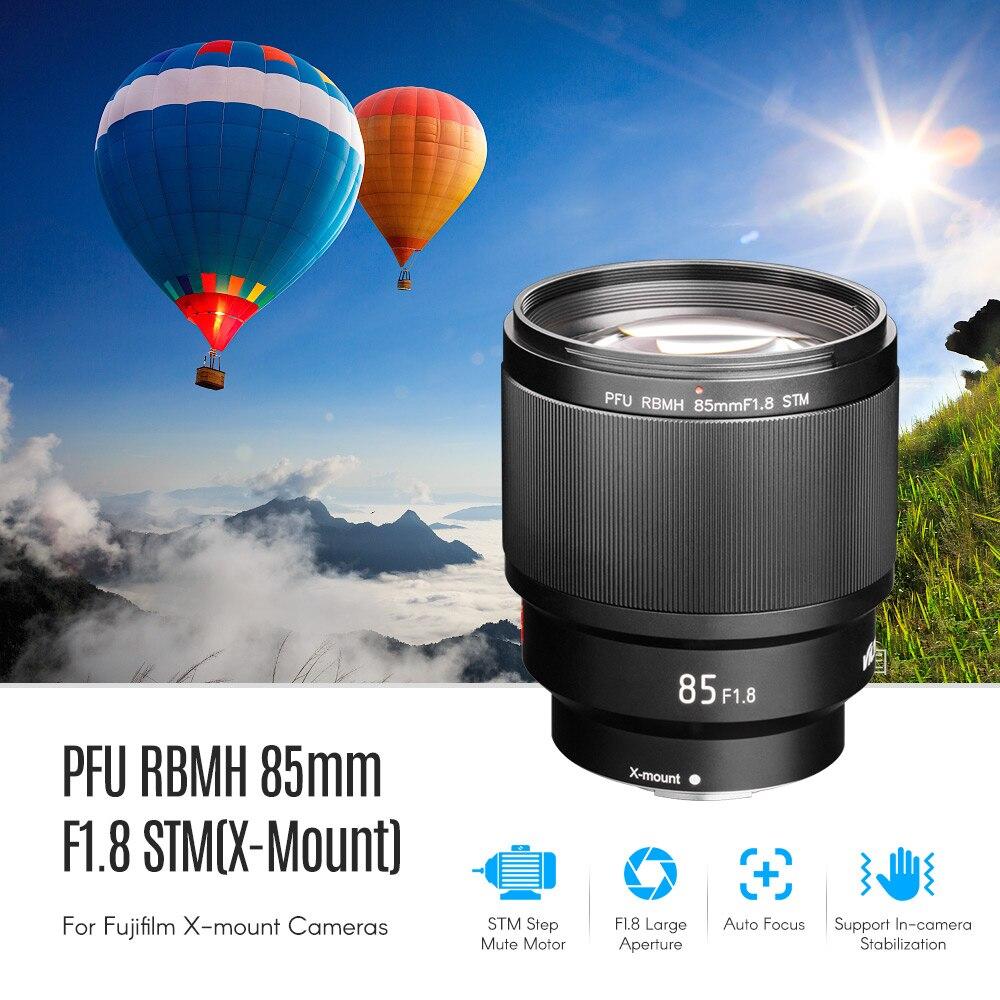 Viltrox 85mm F1 8 lens Portrait Lens STM AF camera Full Frame for Fujifilm X Mount