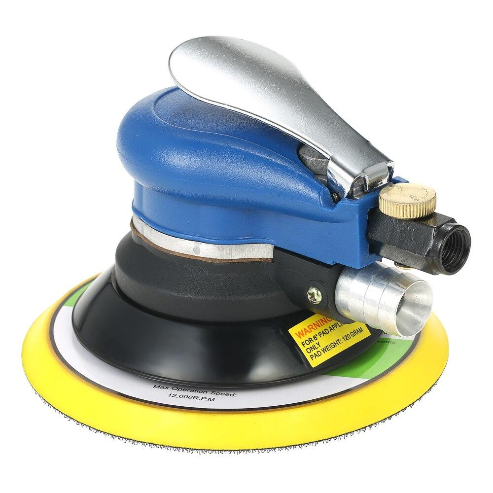 Meterk 10000RPM Dual Action Pneumatic Air Sander Car Paint Care Tool Polishing Sanding Machine Car Polisher