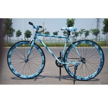 A Mountain Country Bicycle Foldable 26 Inch 21 Speed Variable Disc Brake Shock Absorption