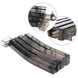 Пейнтбол пластиковый BB скоростной погрузчик Airsoft 500rd стрельба Быстрый скоростной погрузчик боевые военные игры Охота пуля Перевозчик