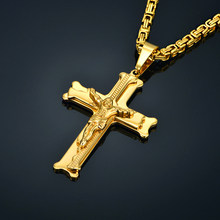 cross pendant for men necklace,do wholesale dropshiping dropship resale store jewellery shipping jewelry necklace(China)