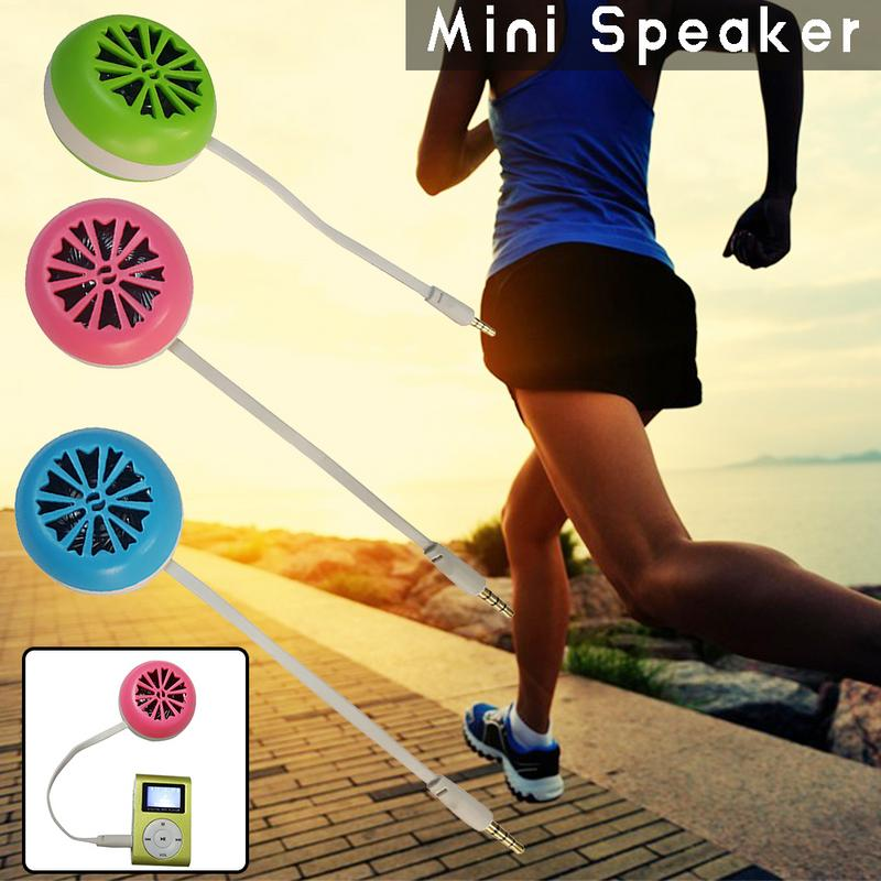 New Small Portable Speaker For Mobile Phone Audio External Mini Speaker Audio High Quality Special Designed Fashion Stylish Gift in Portable Speakers from Consumer Electronics