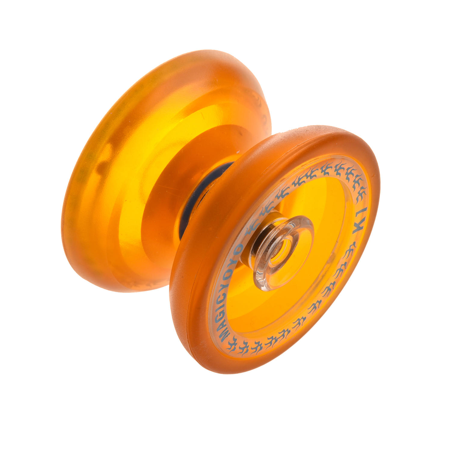 Small Animal Supplies Beautiful Magicyoyo K1 Spin Abs Yoyo New Pvc Professional Yoyo Toys With Hubstacks Orange Random Color To Rank First Among Similar Products