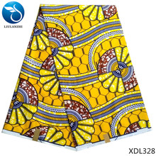 LIULANZHI wax print real fabric african for men 6yards XDL328-XDL330