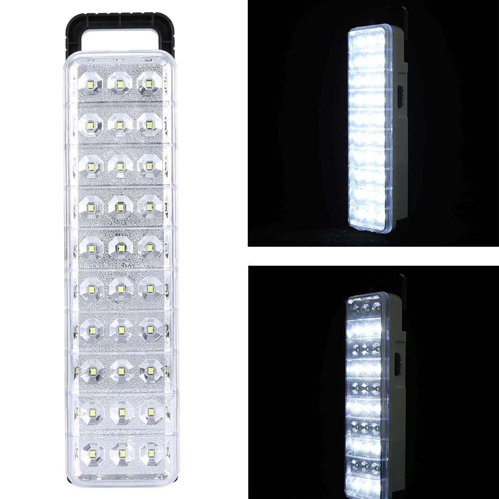 CLAITE Waterproof 30LED Multi-Function Rechargeable Emergy Flashlight Mini 60 LED