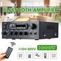 1000 Вт 220 В 110 В аудио усилитель мощности домашний кинотеатр усилители аудио с дистанционным управлением Поддержка FM USB SD карта bluetooth