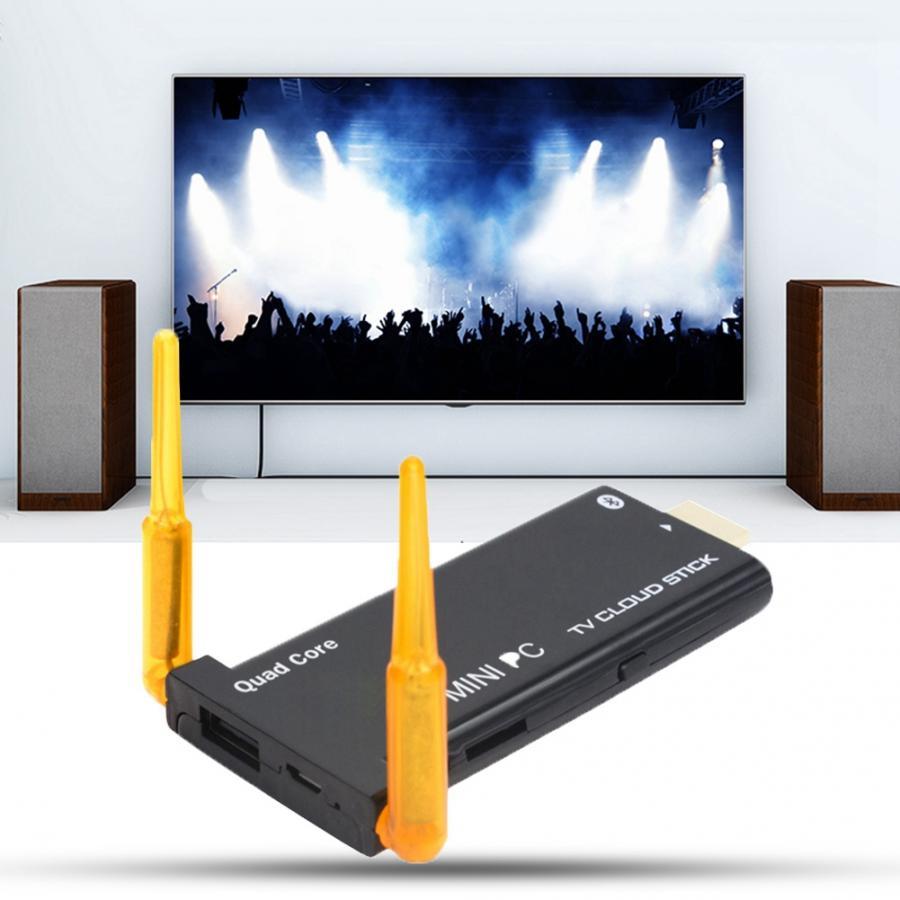 J22 RK3229 Quad Core 2 GB + 8 GB BT TV Stick HDMI 4 K TV Dongle pour Android 7.1 2019
