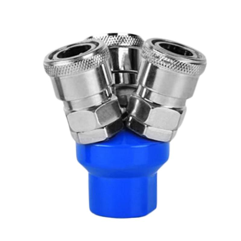Pneumatic C Type Quick Coupling SMY/SMV Round Vent Pipe Quick Release Coupler Tool Air Compressor Air Pump Gas Welding Accessor