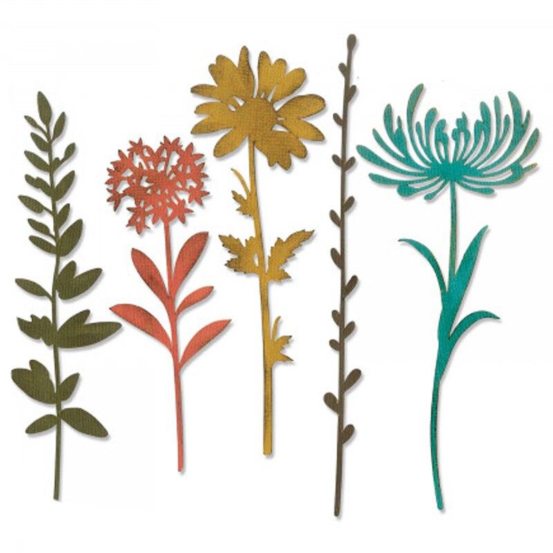 Leaf Flourish #5 Metal Die Cut Cheery Lynn Cutting Dies CAFLR55 Vine Scroll