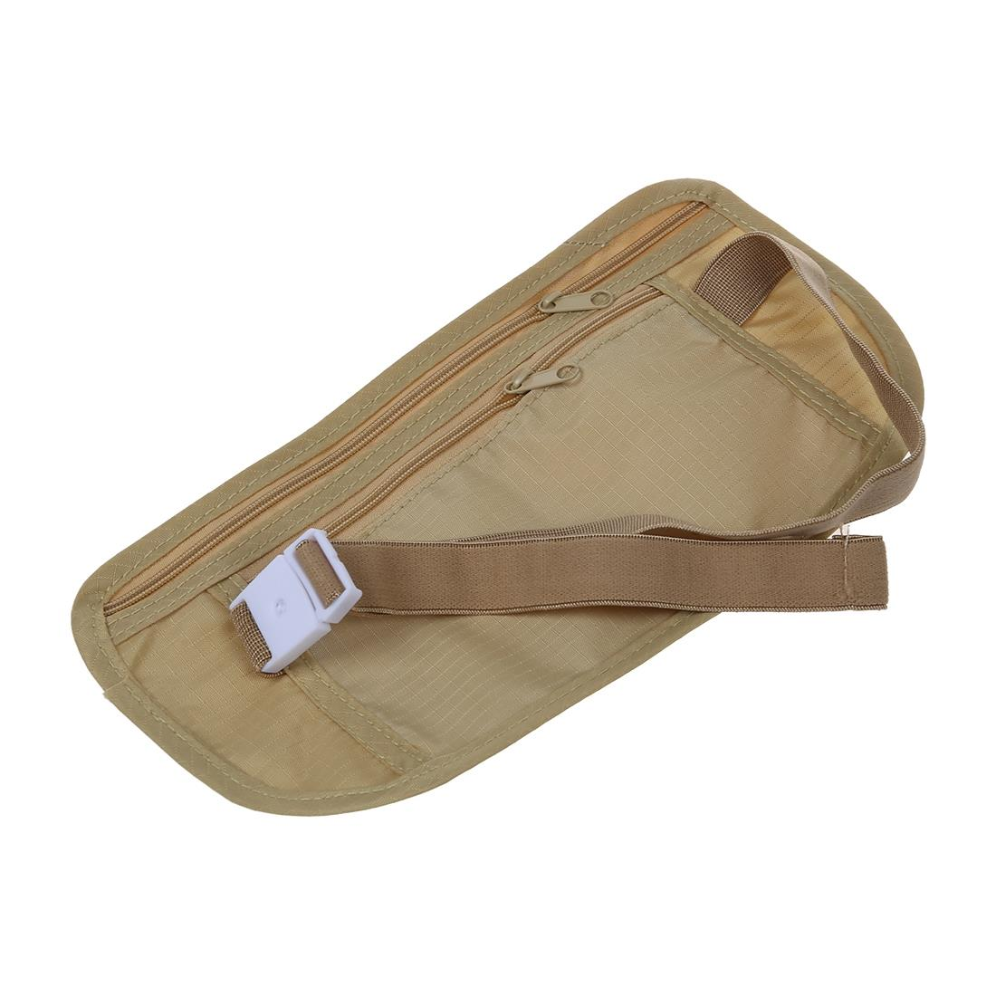 Travel Money Belt for Security Pouch Passport Cash Money Holiday Traveling