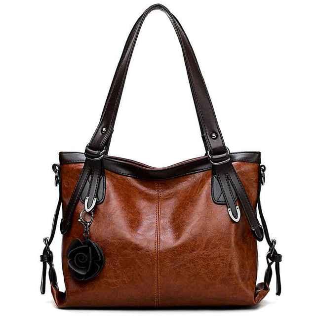 Totes Fashion Women Bag Designer Brand letter Messenger Bags Classic Simple Handbag With Flower High Quality Ladies Shoulder Bag