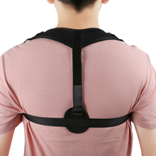 Medical Clavicle Brace Support Belt Adjustable Back Posture Corrector Spine Shoulder Lumbar Correction