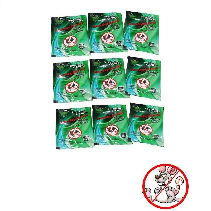 9 Pcs/lot Mouse Poison Chain Killing Bait Pest Control Rat Mice Killer Insecticide Pest Reject Rat Repeller Killer Trap