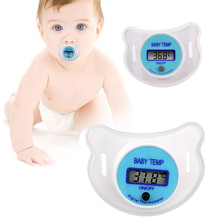 Soft Infant Baby Kid Nipple LCD Digital Mouth Pacifier Thermometer Children Health Safety Care YJS Dropship