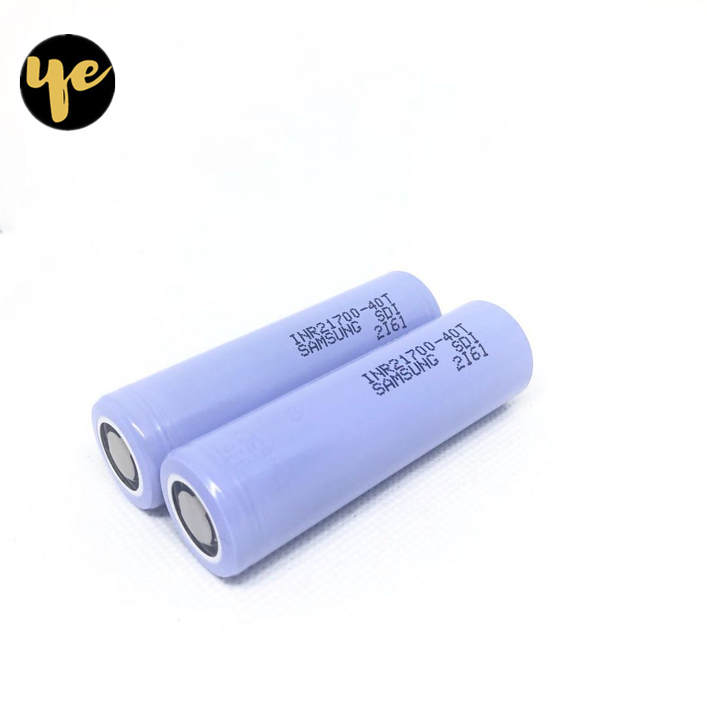 New 30T 40T 50E 3000mAh 4000mAh 35A 21700 power battery 35A discharge power electronic cigarette charging