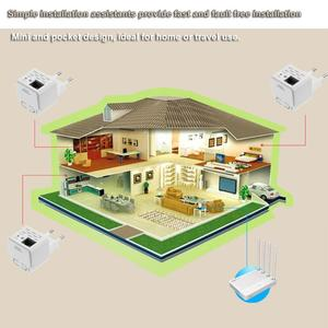 Image 2 - 300M Wireless WiFi Repeater 802.11N Signal Amplifier Range Extender Booster
