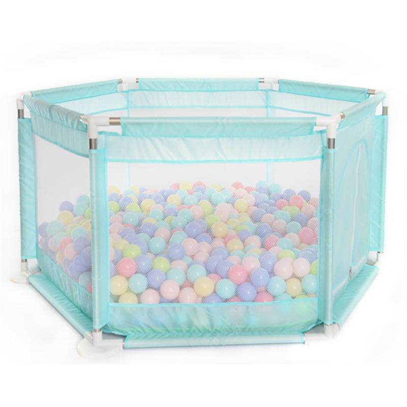 Children's Hexagonal Playpen Playard Toys Washable Ocean Ball Pool Set For Babies/Toddler/Newborn/Infant Safe Crawling