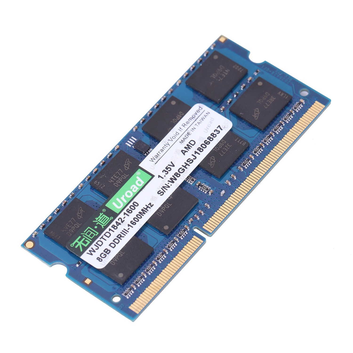 Uroad DDR 3 Uroad DDR 3l Memory RAM 1600Mhz 1.35V For AMD Laptop PC Notebook