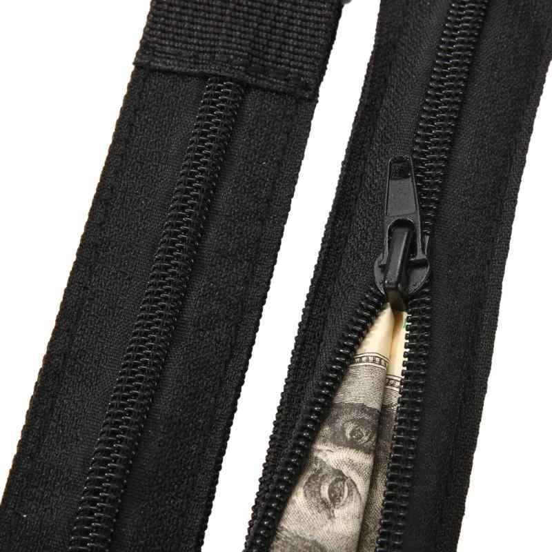 ユニセックスウエストバッグファニーパック多機能バッグポケット盗難防止トラベルマネーベルトウエストバッグ変更ポーチ女性ウエストパック
