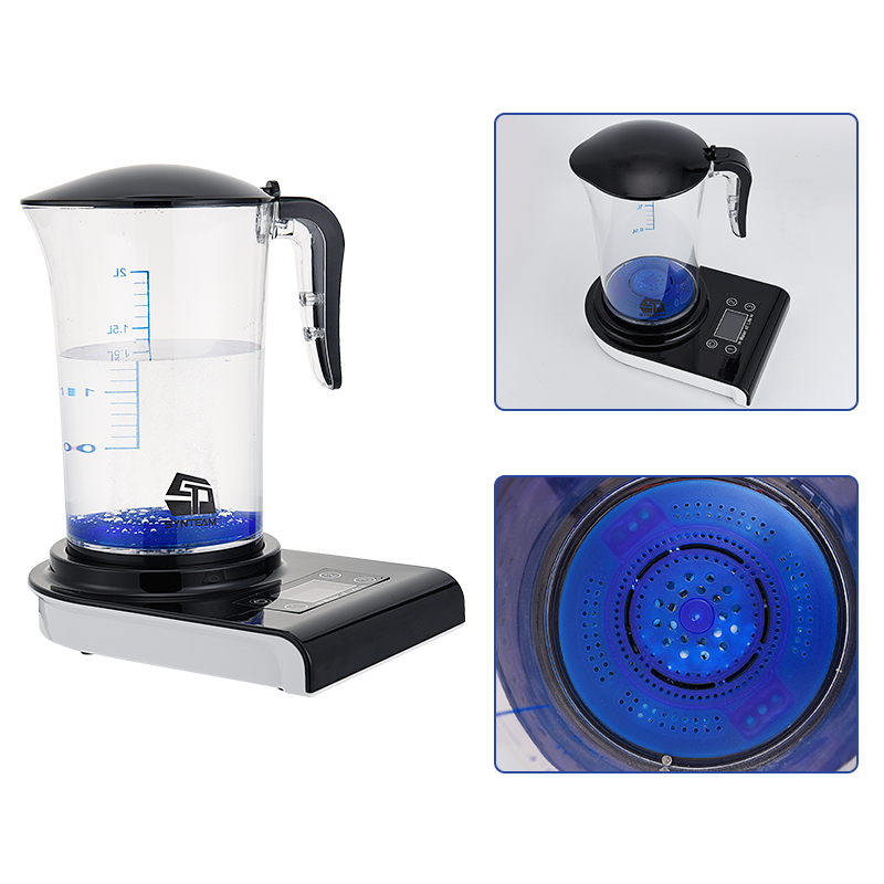 2.0L PP Material Healthy Hydrogen Generator Hydrogen Rich Water Pitcher Machine Hydrogen Generating Maker Water Ionizer WAC001