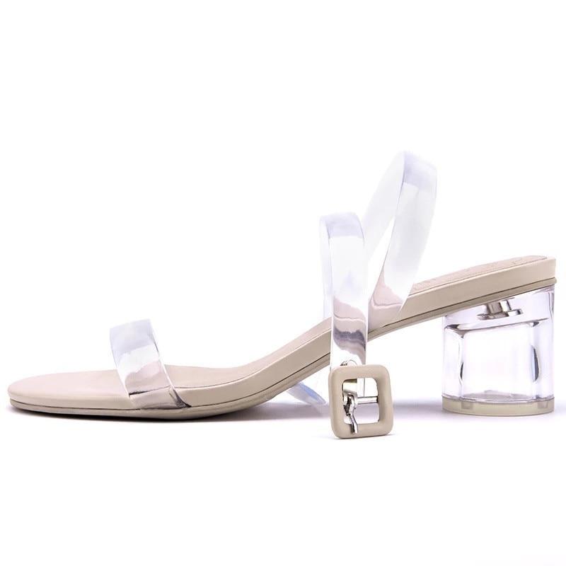 Moda Playa Nueva Gelatina Abierta Las Black white Superior Mujer La Calidad De Mujeres Sandalias Verano Zapatos Punta Stkehidba f1q0gg