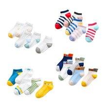 2019 New Style Spring-Summer Cotton Diamond Grid Childrens Socks Fashion nan nv Child Breathable Sweat Wholesa