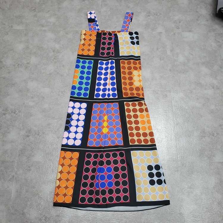 LANMREM летняя модная одежда в горошек контрастного цвета для женщин 2019 без рукавов Спагетти ремень платья женские новые YH33409