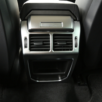 For Land Rover Range Rover Evoque 2014-2016 Car Interior Accessories Rear Air Outlet Vent Protection Frame Cover Trim Sticker фото
