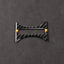 Для Mercedes BenzA Class W176 X156 C117 14 17 Автомобильный держатель для стакана с водой в салон Декор чехол из углеродного волокна