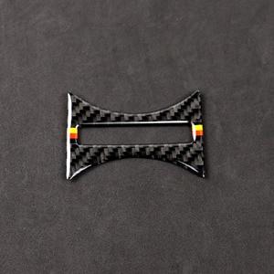 Image 1 - Для Mercedes BenzA Class W176 X156 C117 14 17 Автомобильный держатель для стакана с водой в салон Декор чехол из углеродного волокна