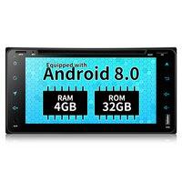 7Inch 2din Autoradio 1024X600 4GB/32GB 2 Din Car Radio GPS Android 8.0 Radio Car 4G WiFi Bluetooth Central Multimidia For Toyota
