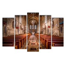 Modern Posters And Prints Oil Church Painting Canvas Wall Art Pictures For Living Room Home Decoration Free Shipping Cairnsi