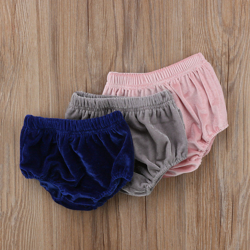 Hot Sale Cute Newborn Kids Baby Girls Velvet Bottoms Bloomer Casual   Shorts   Diaper Cover Panties PP Pant Toddler Infant Clothes