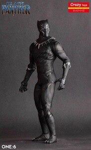 Image 5 - مجنون لعب 1/6 مقياس كاريكاتير الأعجوبة الأسود النمر تمثال دمية على شكل عروسة تمثال