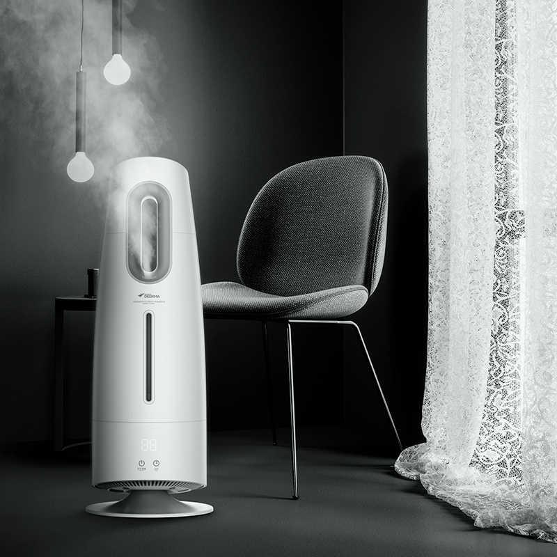 Xiaomi экологическая цепь бренд DEERMA туман увлажнитель 4L очиститель воздуха для кондиционированных комнат офис бытовой с фильтром