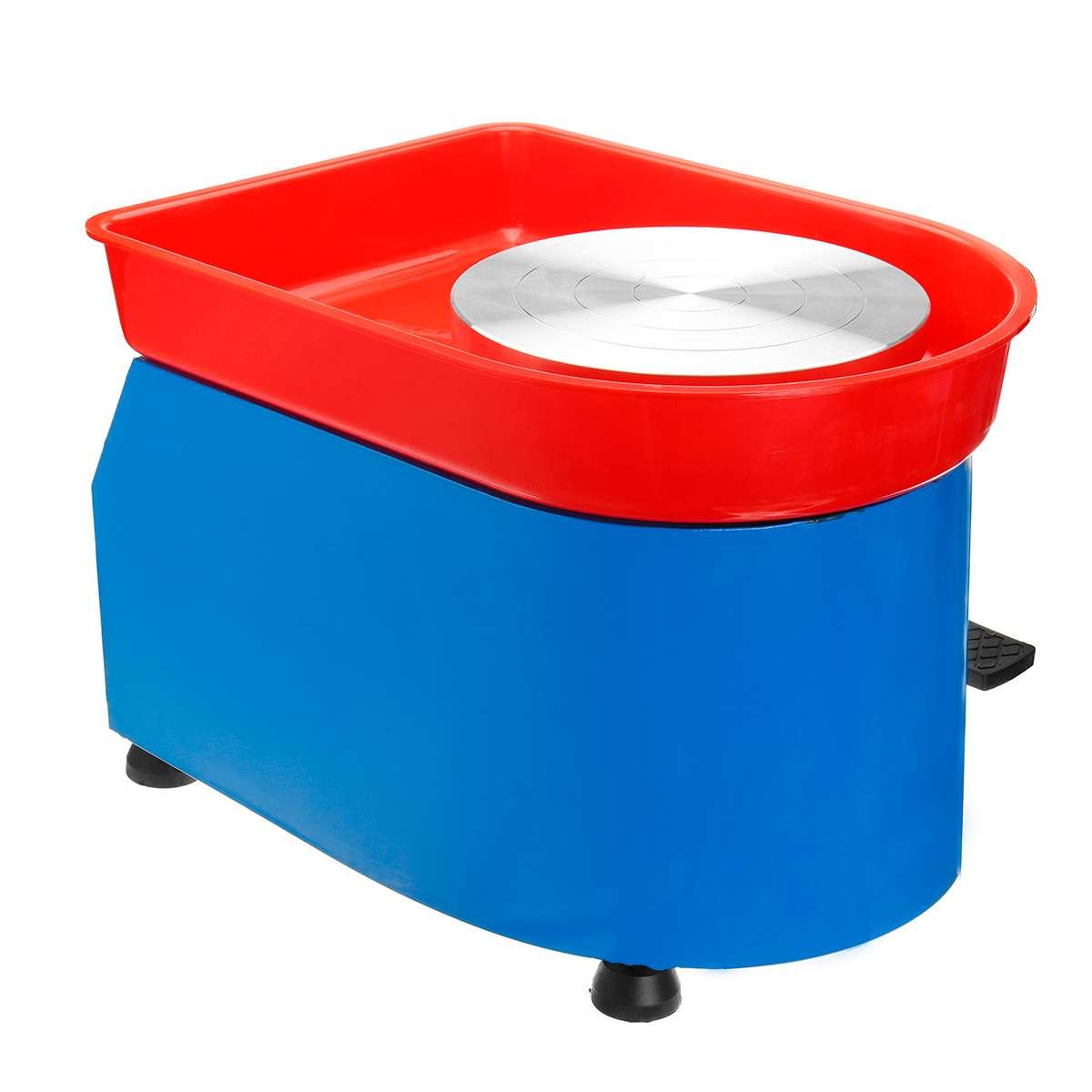 US Plug 350 W 110/220 V poterie électrique roue en céramique Machine poterie formant la Machine argile pour travaux pratiques outil céramique travail céramique argile - 3