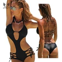 Bandage Swimsuit Swimwear Women Bathing Suit Monokini Trikini One Piece Swimsuit Swimming Suit Maillot De Bain Une Piece