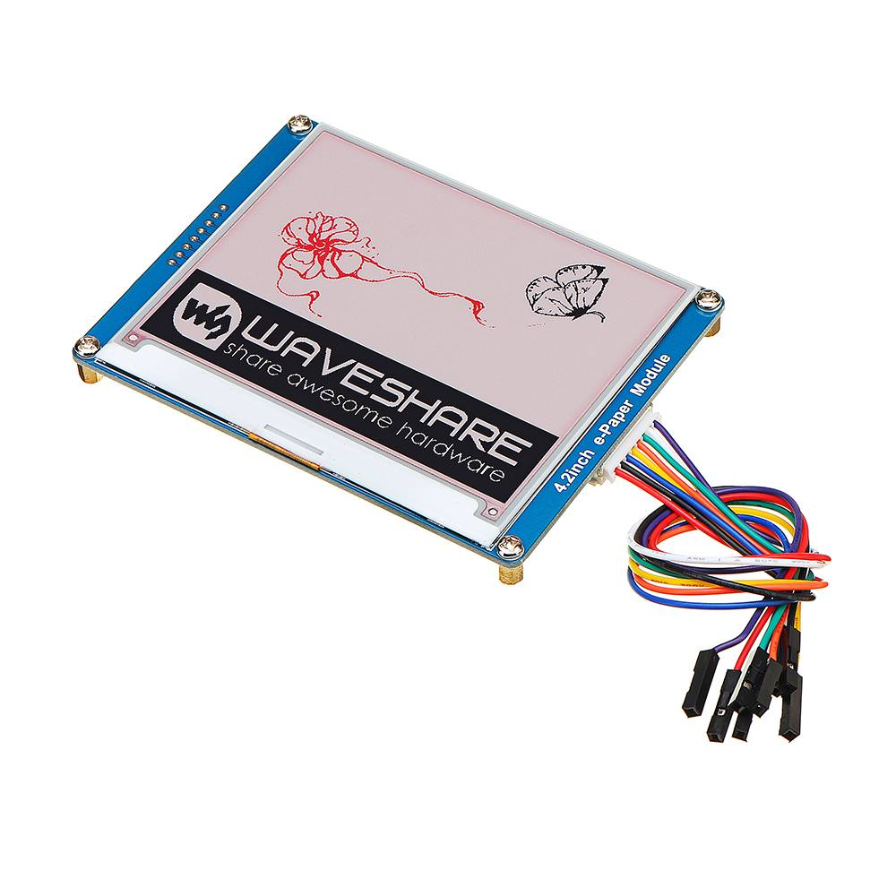 4 2 Inch E ink Screen Display e Paper Module SPI Interface Red Black White For