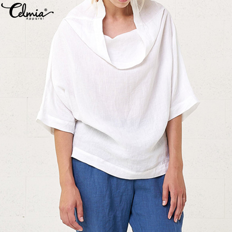 Domple Mens Plus Size Loose Hooded Linen Muslim T-Shirt Tee