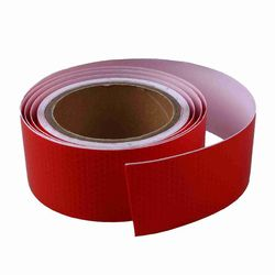10m x 5cm self-adhesive tape light reflecting tape red