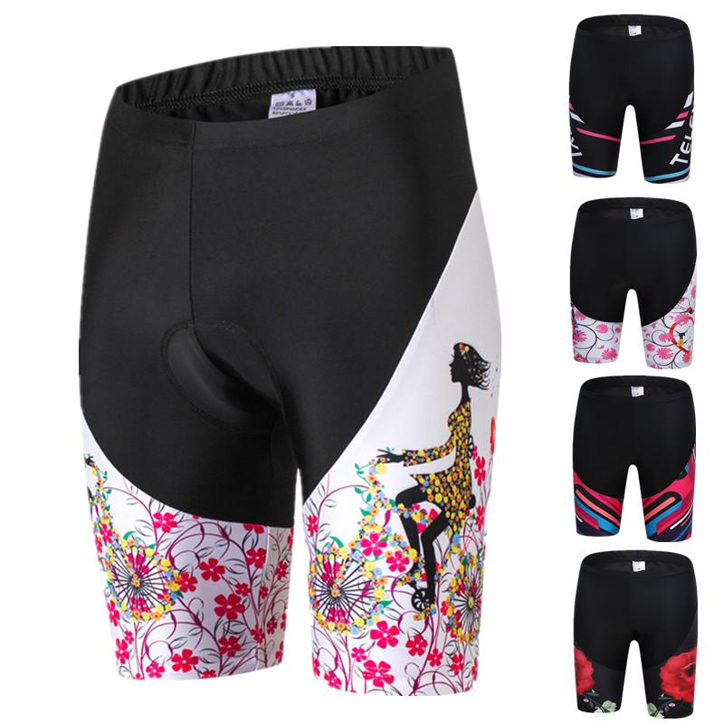 Weimostar Pro Cycling Shorts Women Team Racing Sport Bicycle Shorts Gel Padded Shockproof MTB Bike Shorts bermuda ciclismo