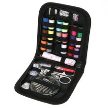 70PCS/Set Multifunction Sewing Box Sewing Thread Stitches Needles Tools Kit Cloth Buttons Craft Scissor Travel Sewing Case Kit