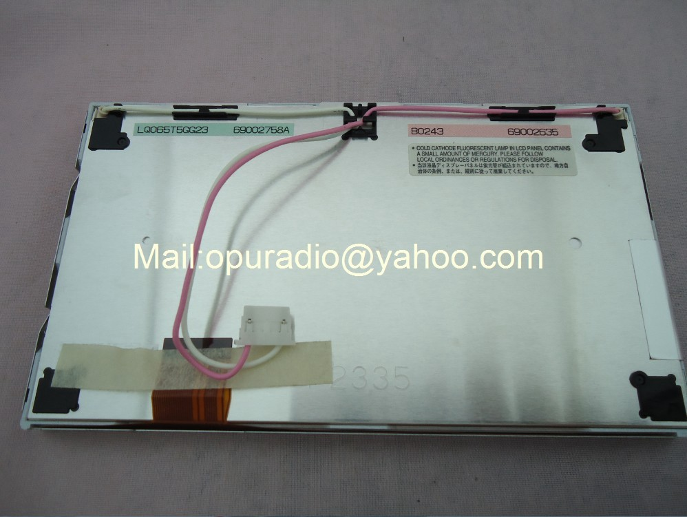 Matsushita LQ065T5GG23 LQ065T5GG22 ЖК-дисплей модули 6,5 дюймов экран для mercedes 320 ML350 автомобильный DVD аудио системы