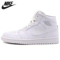 Nike Air Jordan 1 Mid AJ1 MID Original New Arrival Men's Basketball Shoes Breathable Comfortable Sneakers #554724